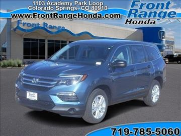 Honda pilot for sale colorado springs co for Front range honda colorado springs co