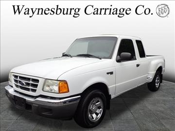 2002 Ford Ranger for sale in Waynesburg, OH