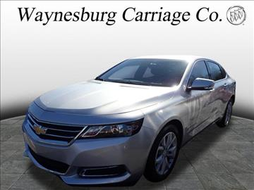2016 Chevrolet Impala for sale in Waynesburg, OH