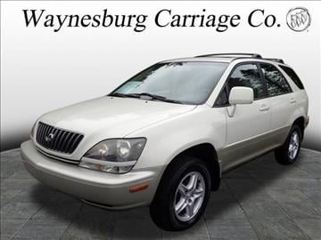 2000 Lexus RX 300 for sale in Waynesburg, OH