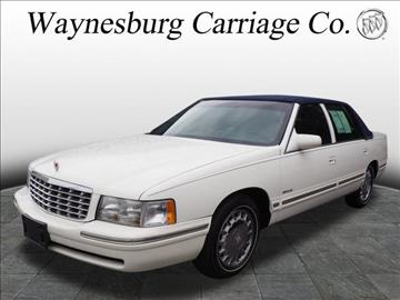 1997 Cadillac DeVille for sale in Waynesburg, OH