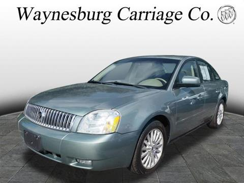 2006 Mercury Montego for sale in Waynesburg, OH