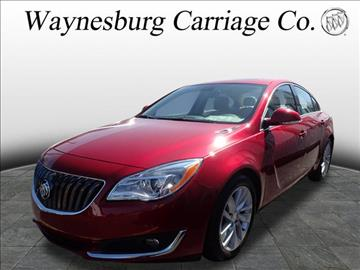 2015 Buick Regal for sale in Waynesburg, OH