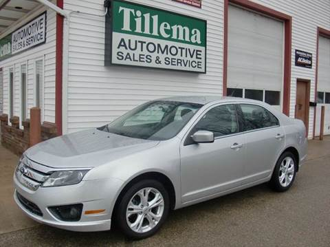 2012 Ford Fusion for sale in Byron Center MI