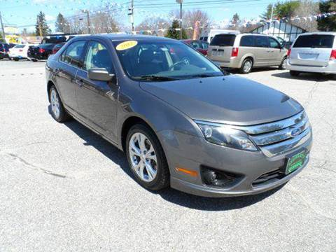 2012 Ford Fusion for sale in Lisbon, ME
