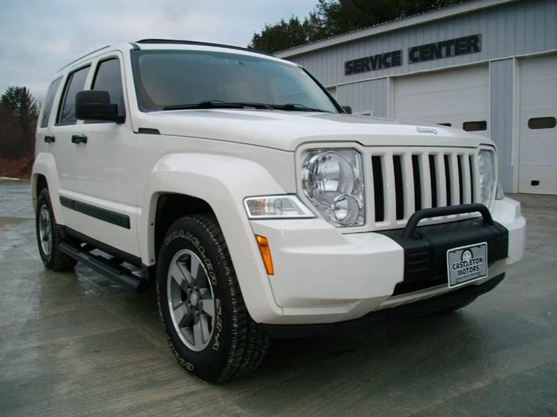 2008 jeep liberty sport 4x4 4dr suv in castleton vt castleton motors. Black Bedroom Furniture Sets. Home Design Ideas