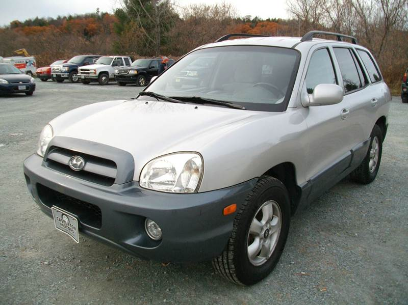 2005 hyundai santa fe gls awd 4dr suv in castleton vt. Black Bedroom Furniture Sets. Home Design Ideas