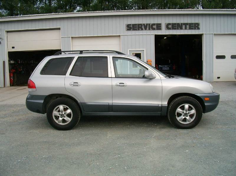 2005 hyundai santa fe gls awd 4dr suv in castleton vt castleton motors. Black Bedroom Furniture Sets. Home Design Ideas