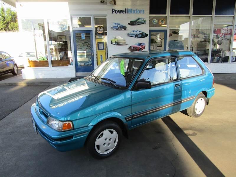 1993 Subaru Justy GL 2dr Hatchback - Portland OR