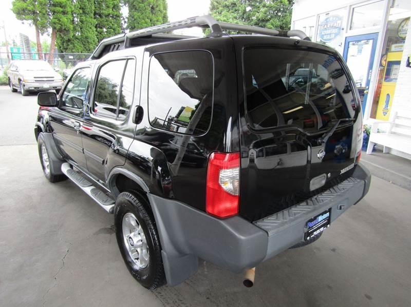 2001 Nissan Xterra 4dr XE V6 4WD SUV - Portland OR