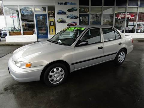 1999 Chevrolet Prizm for sale in Portland, OR