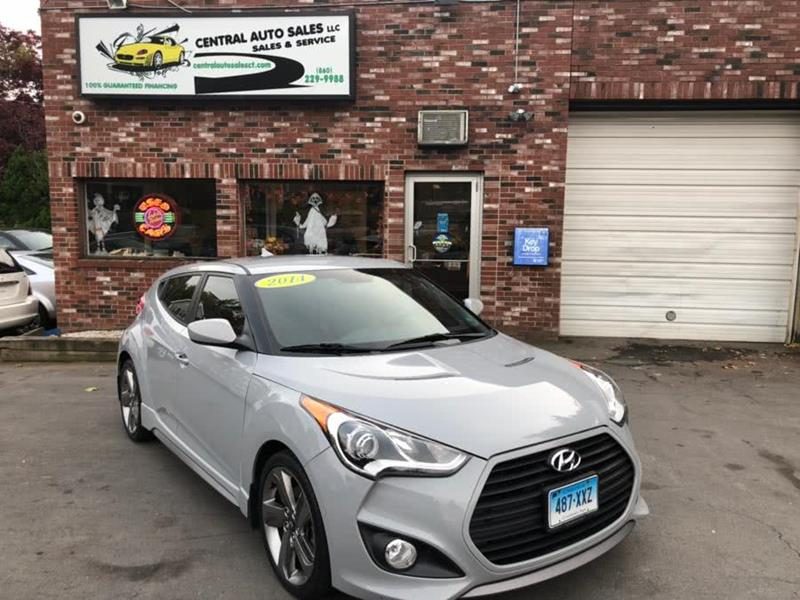 2014 Hyundai Veloster Turbo 3dr Coupe 6a In New Britain Ct Central
