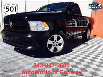 2012 RAM Ram Pickup 1500 for sale in Conway, SC