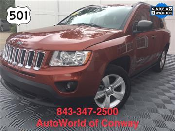 2012 Jeep Compass for sale in Conway, SC