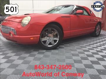 2002 Ford Thunderbird for sale in Conway, SC
