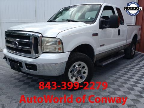 2005 Ford F-250 Super Duty for sale in Conway, SC