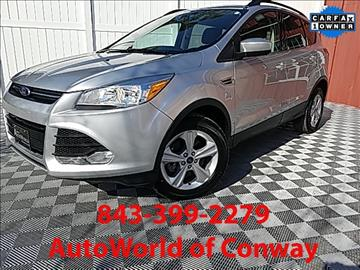 2014 Ford Escape for sale in Conway, SC
