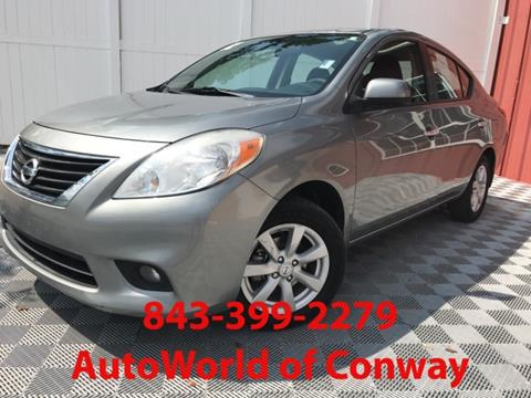 2012 Nissan Versa for sale in Conway, SC