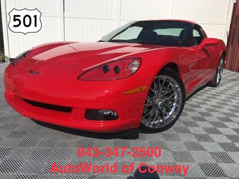 Exceptional 2012 Chevrolet Corvette For Sale In Conway, SC