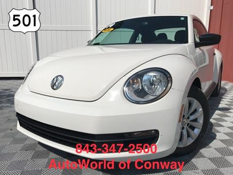2014 Volkswagen Beetle for sale in Conway, SC