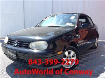 2002 Volkswagen Cabrio for sale in Conway, SC