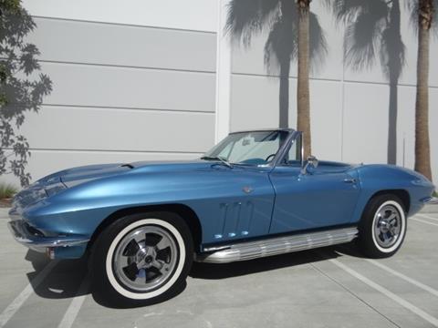 1965 Corvette For Sale >> 1965 Chevrolet Corvette For Sale In Anaheim Ca