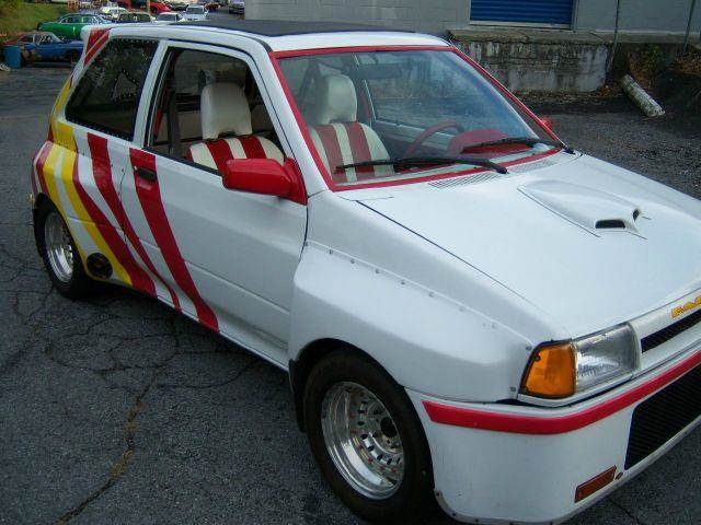 Ford Festiva Drag Car