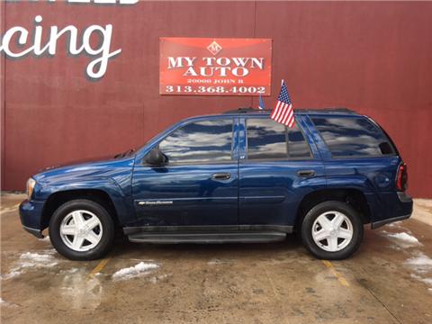 2003 Chevrolet TrailBlazer for sale in Detroit, MI