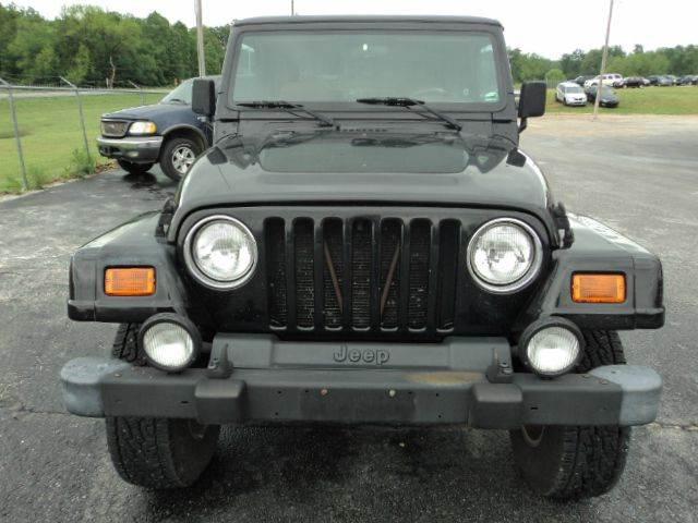 2000 Jeep Wrangler 2dr Sahara 4WD SUV - Granby MO