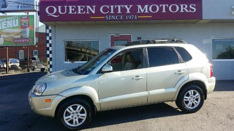 2007 hyundai tucson for sale for Queen city motors cumberland