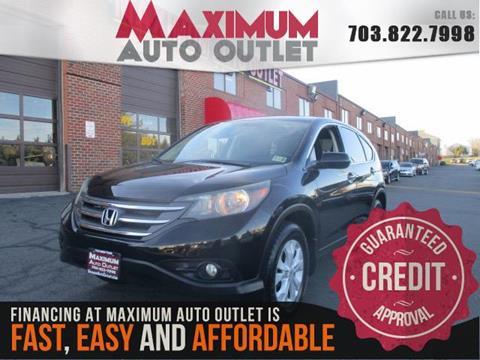 2013 Honda CR-V for sale in Manassas, VA