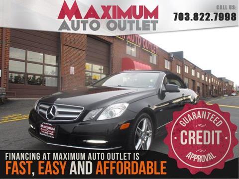 2012 Mercedes-Benz E-Class for sale in Manassas, VA