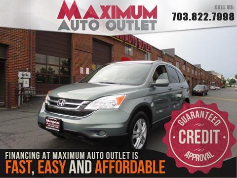 2010 Honda CR-V for sale in Manassas, VA