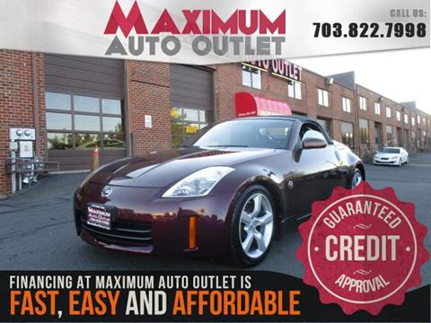 2006 nissan 350z for sale. Black Bedroom Furniture Sets. Home Design Ideas