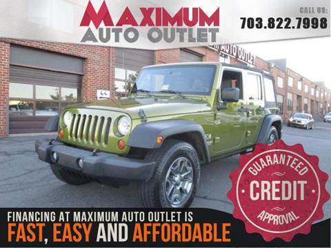 2007 Jeep Wrangler Unlimited for sale in Manassas, VA