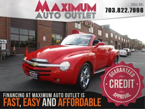 2005 Chevrolet SSR for sale in Manassas, VA