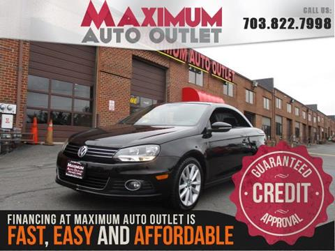 2012 Volkswagen Eos for sale in Manassas, VA
