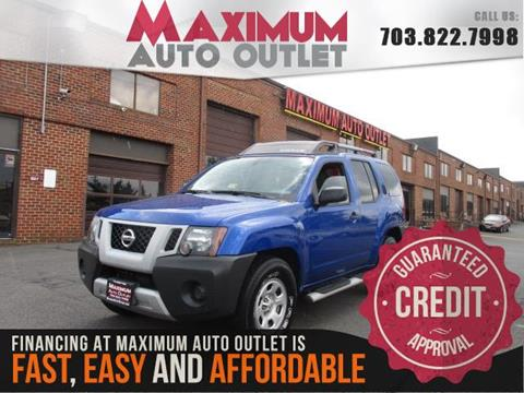 2012 Nissan Xterra for sale in Manassas, VA
