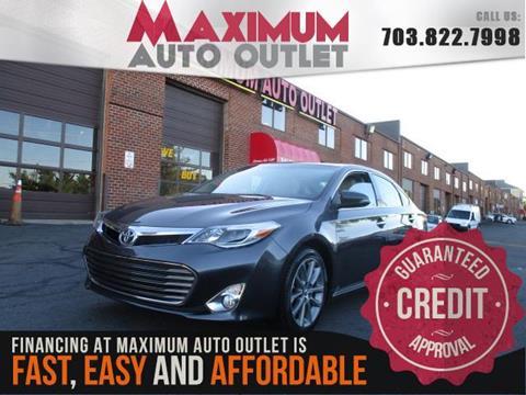 2014 Toyota Avalon for sale in Manassas, VA