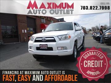 2011 Toyota 4Runner for sale in Manassas, VA