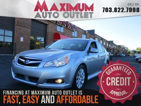 2012 Subaru Legacy for sale in Manassas, VA