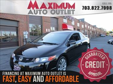2009 Honda Civic for sale in Manassas, VA