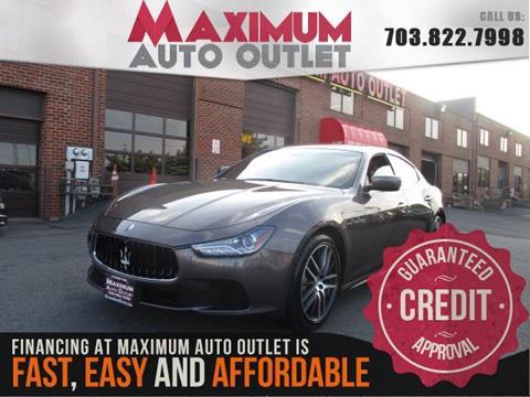 2014 Maserati Ghibli for sale in Manassas, VA