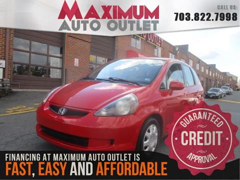 2007 Honda Fit for sale in Manassas, VA