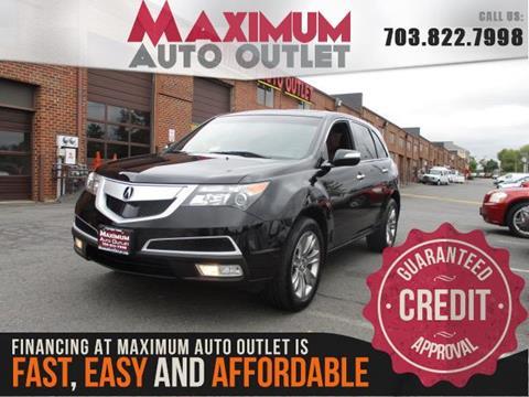 2012 Acura MDX for sale in Manassas, VA