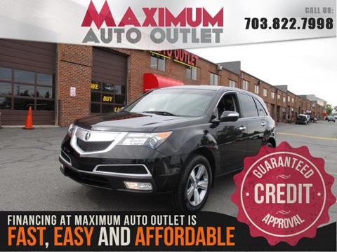2013 Acura MDX for sale in Manassas, VA