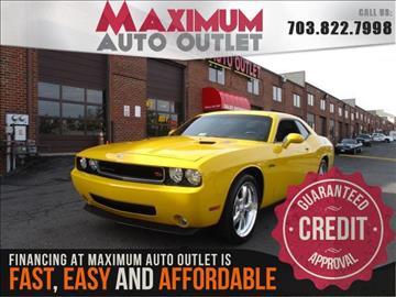 2010 Dodge Challenger for sale in Manassas, VA