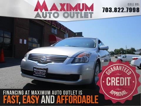 2009 Nissan Altima for sale in Manassas, VA