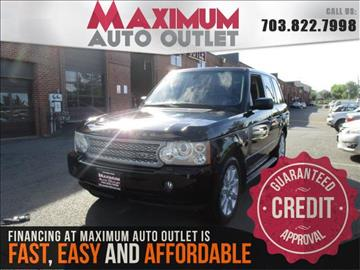 2007 Land Rover Range Rover for sale in Manassas, VA