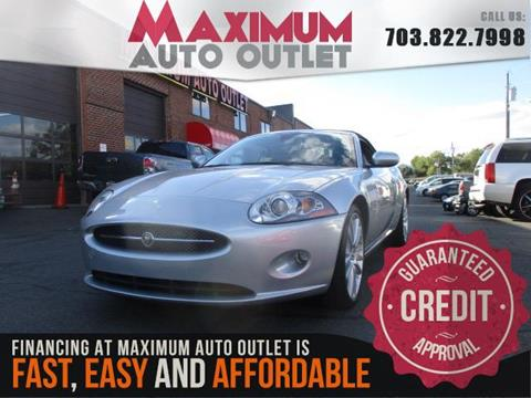 2007 Jaguar XK-Series for sale in Manassas, VA